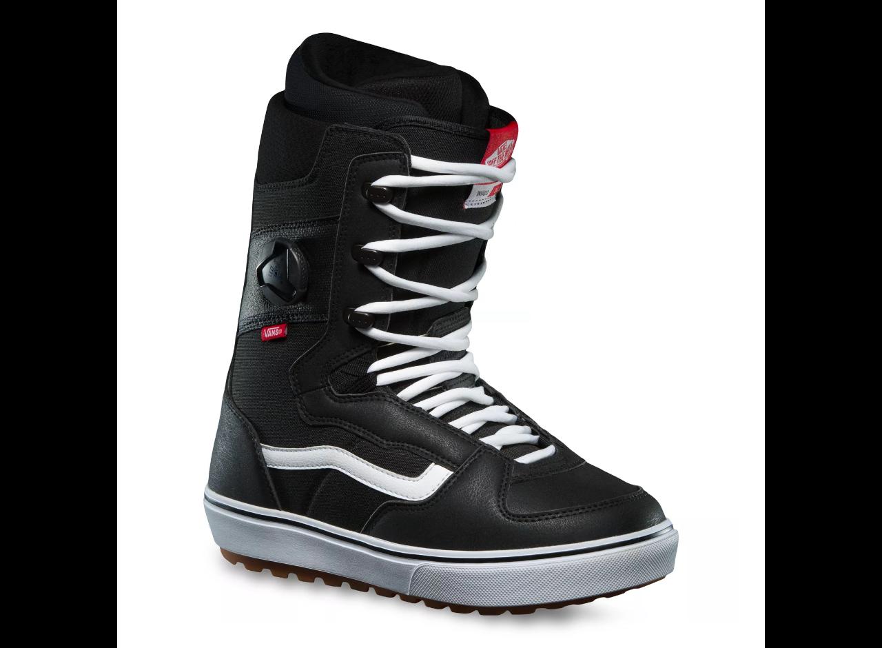 2022 Vans Invado OG Men's Snowboard Boot - Black / White