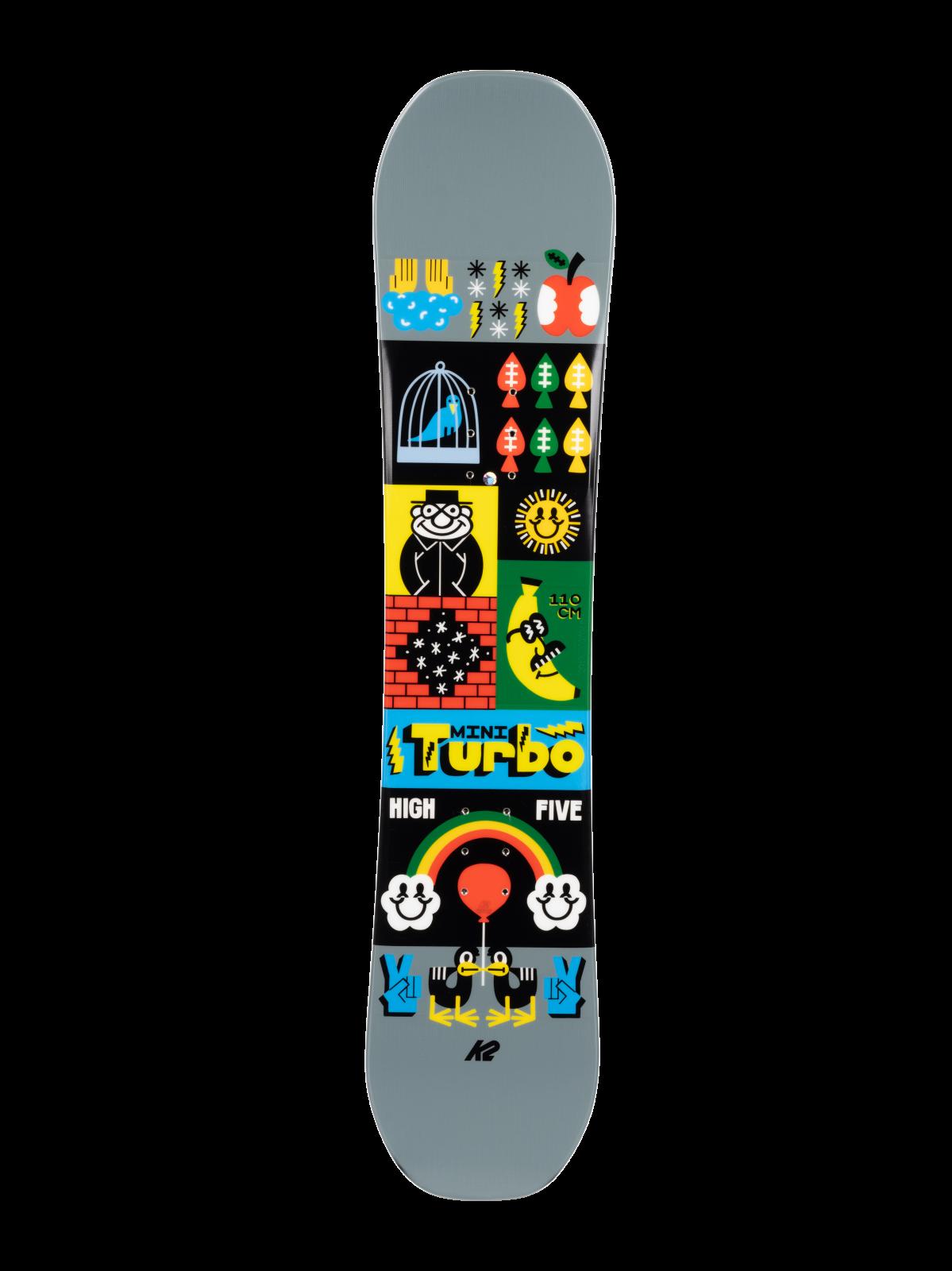2022 K2 Mini Turbo Junior Snowboard