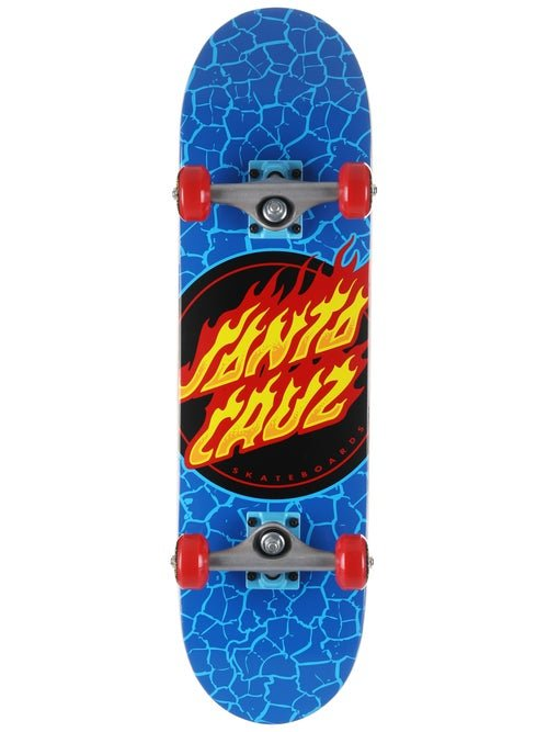 Santa Cruz Flame Dot Micro 7.5 x 28.25 Skateboard Complete