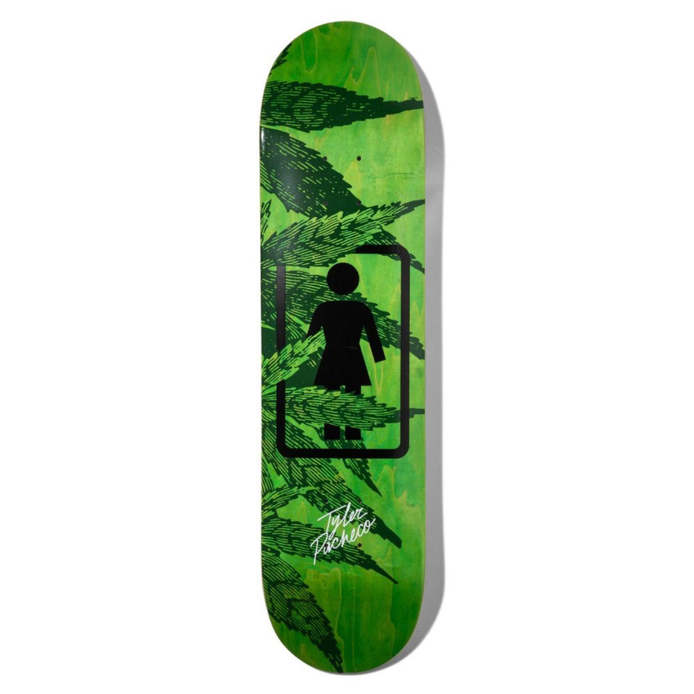 Girl Pacheco Smokers 7.75 x 31.125 Skateboard Deck