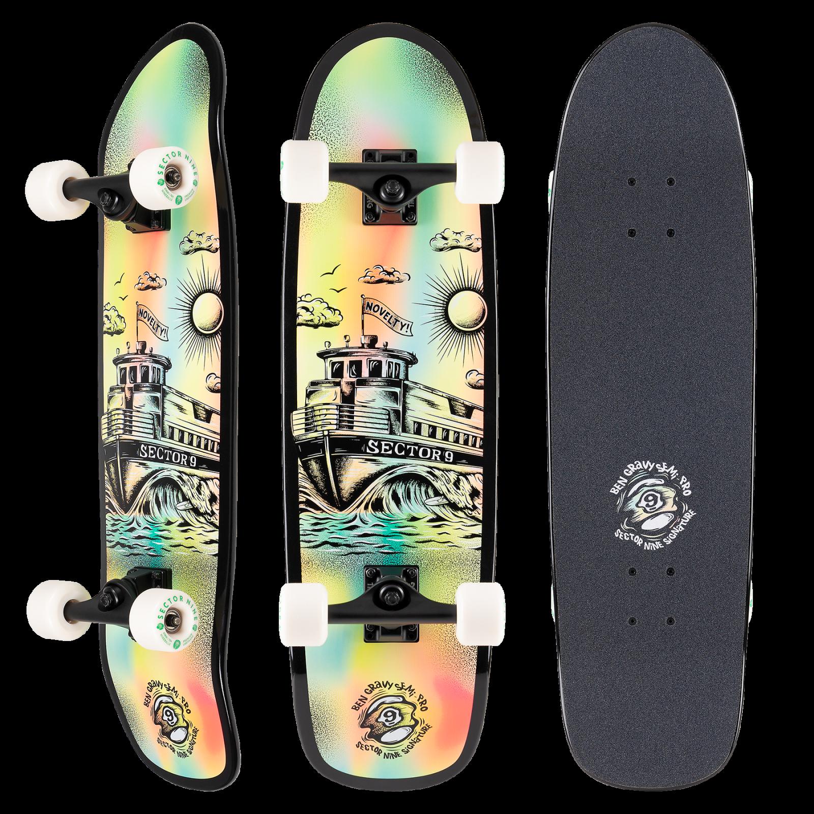 Sector 9 Gravy Semi-Pro Barge Cruiser Skateboard Complete