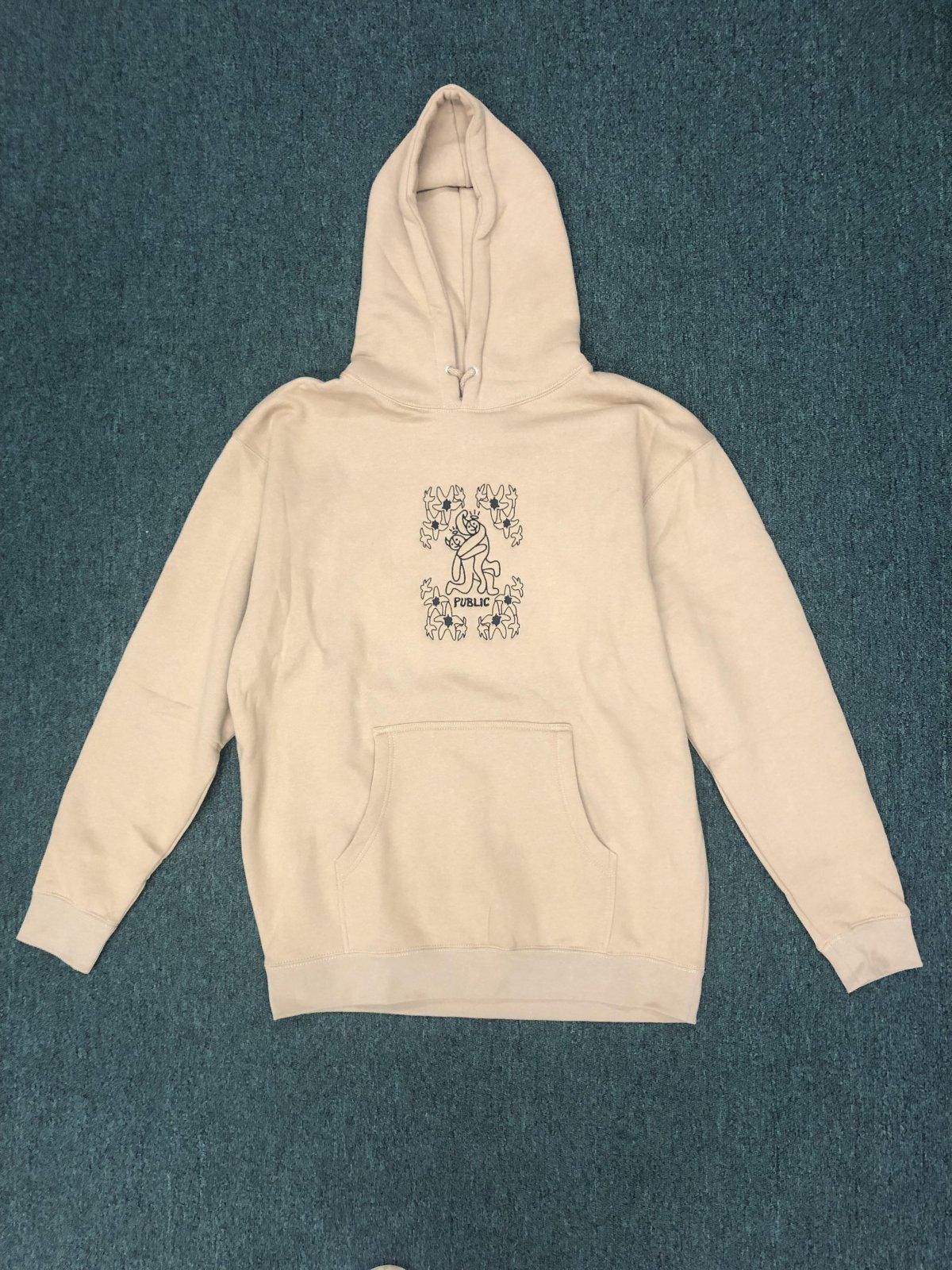 Public Friends Hooded Pullover Sweatshirt