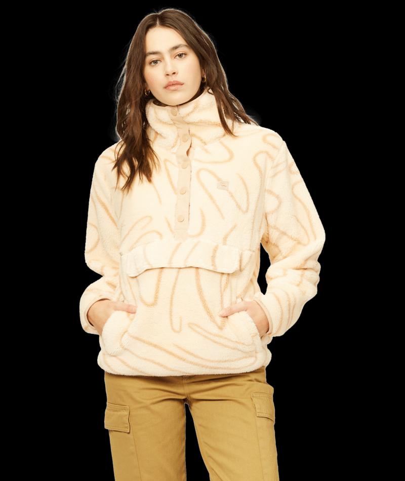 Billabong A/Div Switchback Pullover Fleece - Neutral