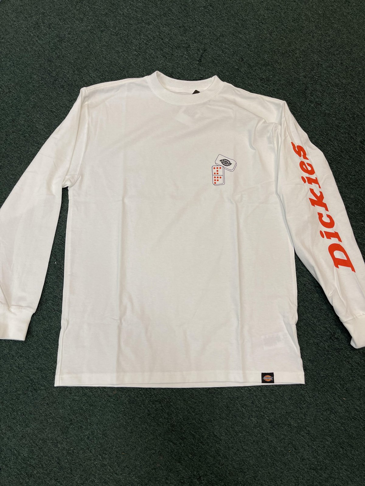 Dickies Jamie Foy Long Sleeve Graphic T-Shirt