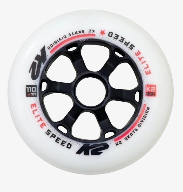 K2 Elite 110mm 85A 4 Pack Inline Wheels