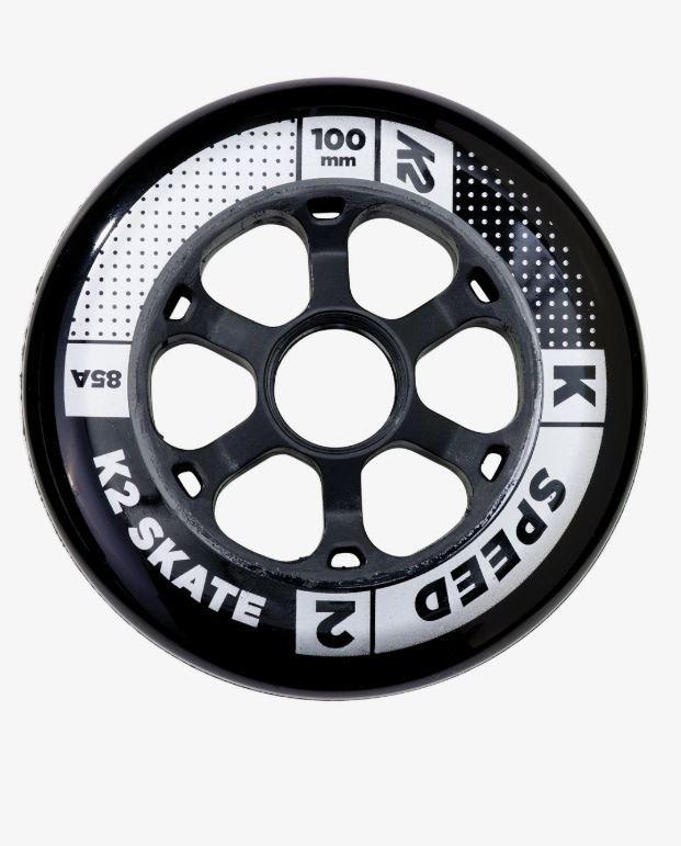 K2 Speed 100mm 85A 4 Pack Inline Wheels