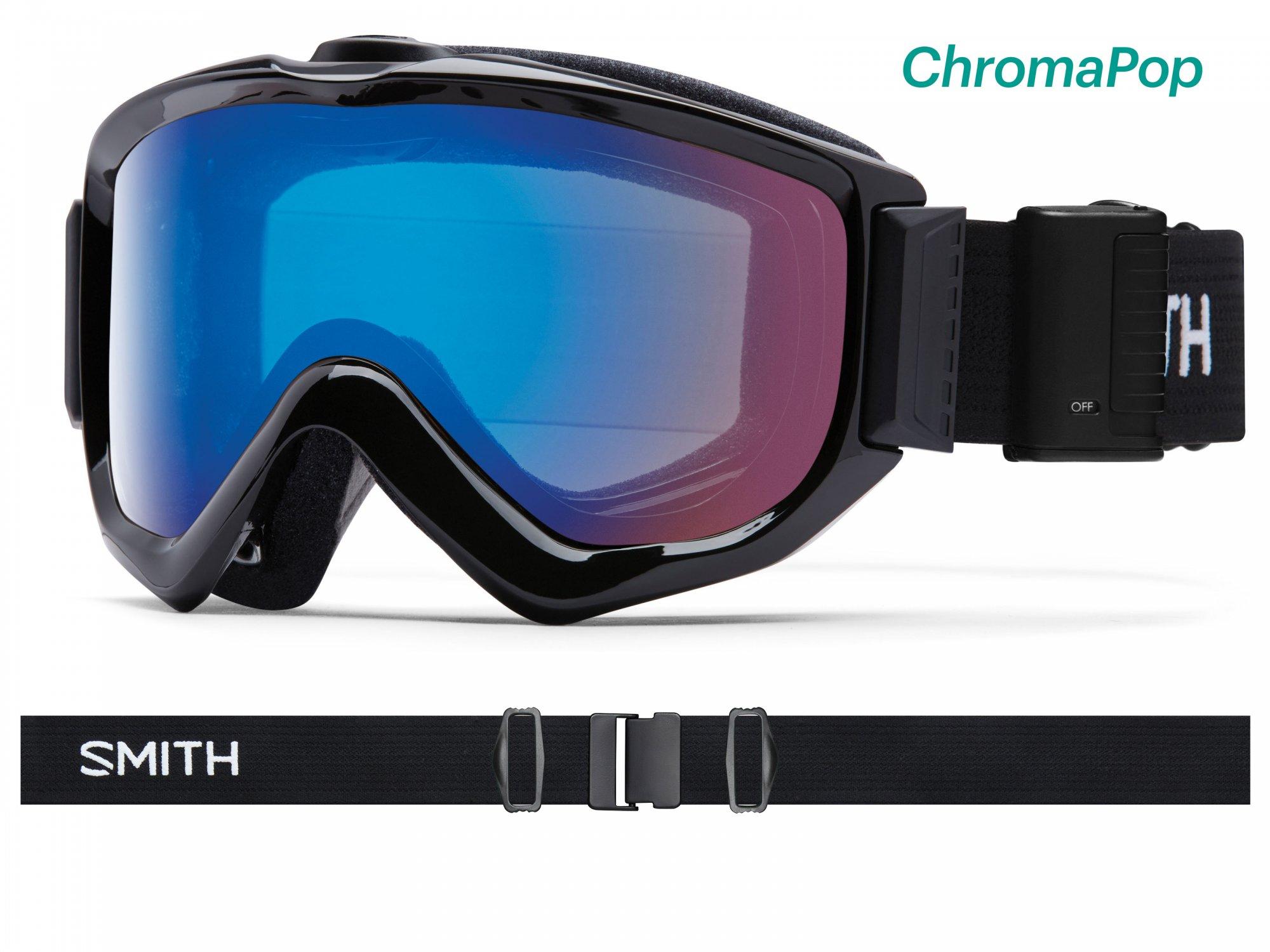 2019 Smith Knowledge OTG Turbo Fan Snow Goggle