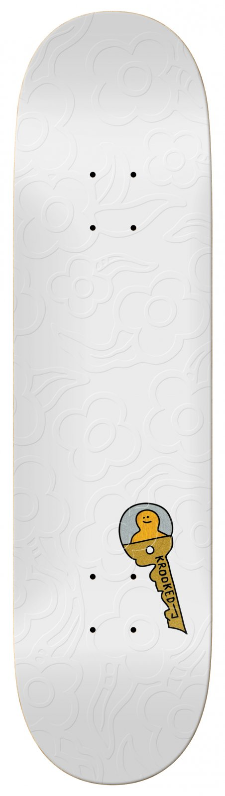 Krooked Kee Slick 8.25 x 32 Skateboard Deck