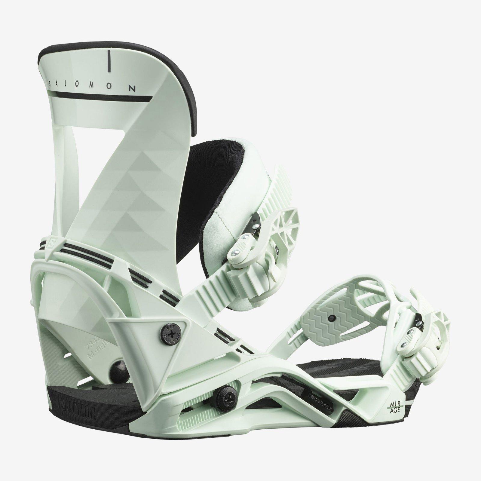 Salomon Mirage Women's Snowboard Bindings - Mint