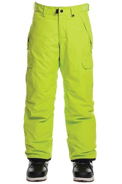 2019 686 Boys Infinity Cargo Insulated Pant Lime