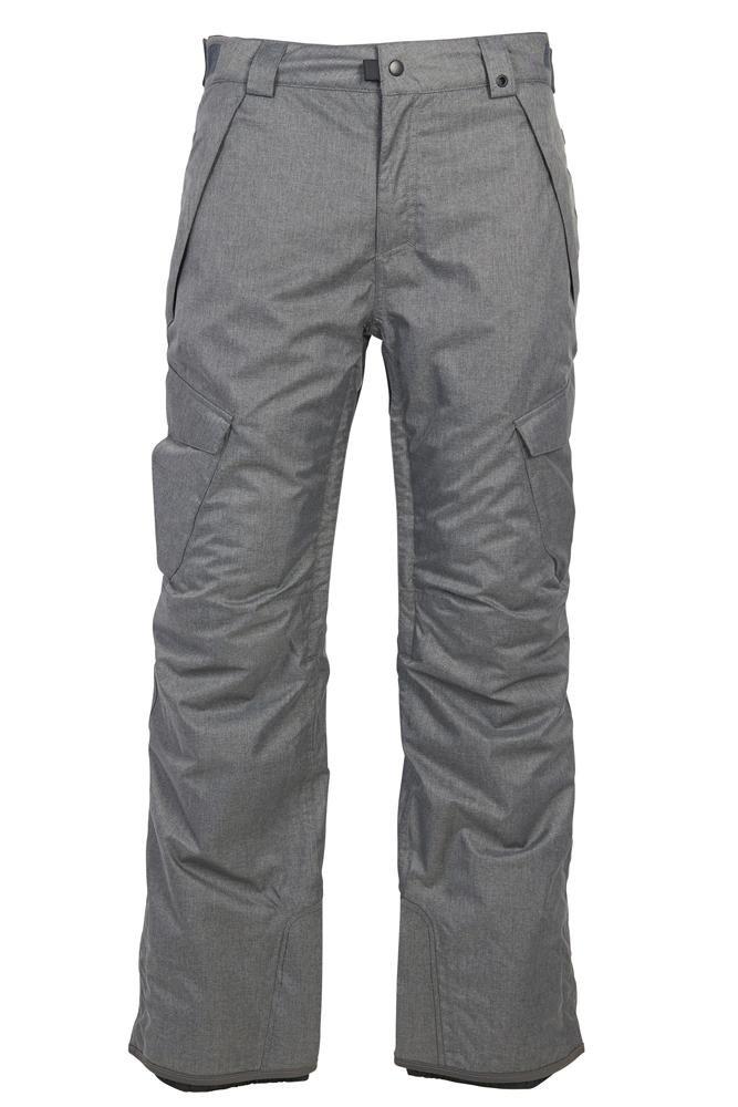686 Men's Infinity Insulated Cargo Pant - Grey Melange