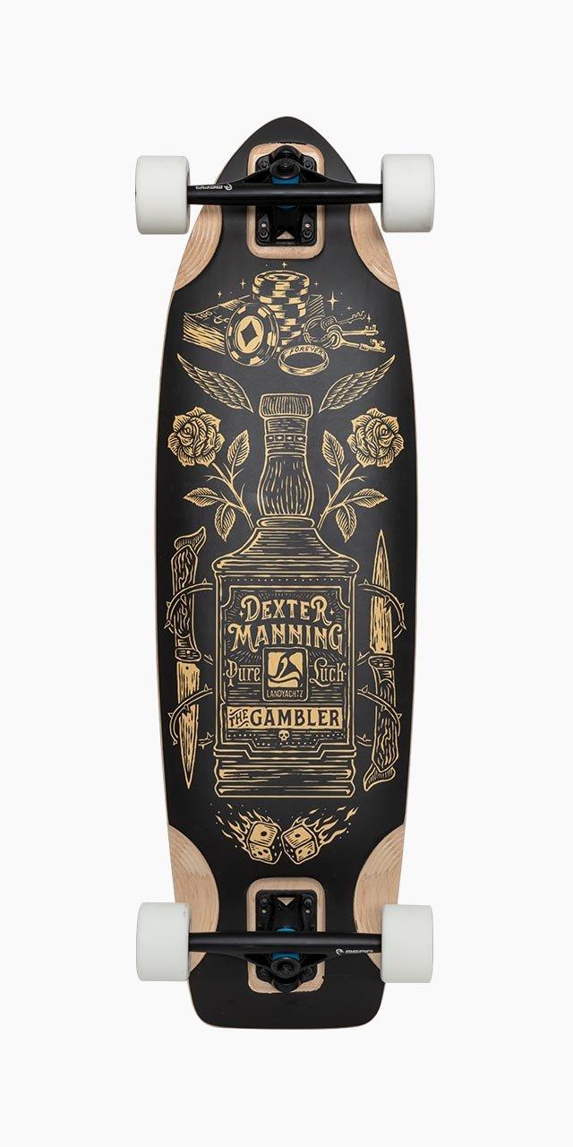 Landyachtz The Gambler Complete Longboard