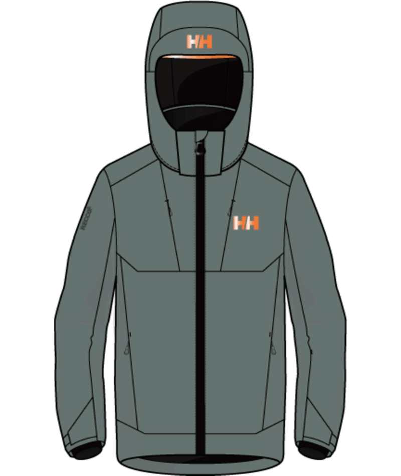 Helly Hansen Alpha Jacket Junior - Trooper