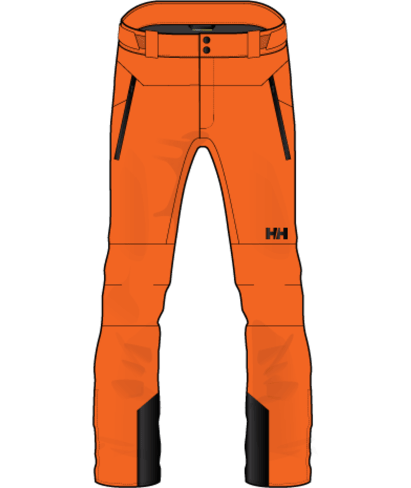 Helly Hansen Alpha Lifaloft Pant Men's - Bright Orange