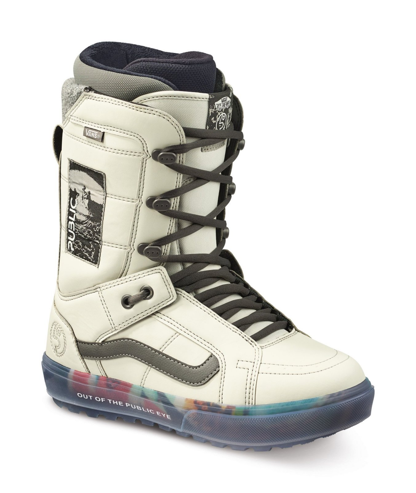 2022 Vans Hi-Standard OG Men's Snowboard Boot - (Public) Grey / Vaporous Grey
