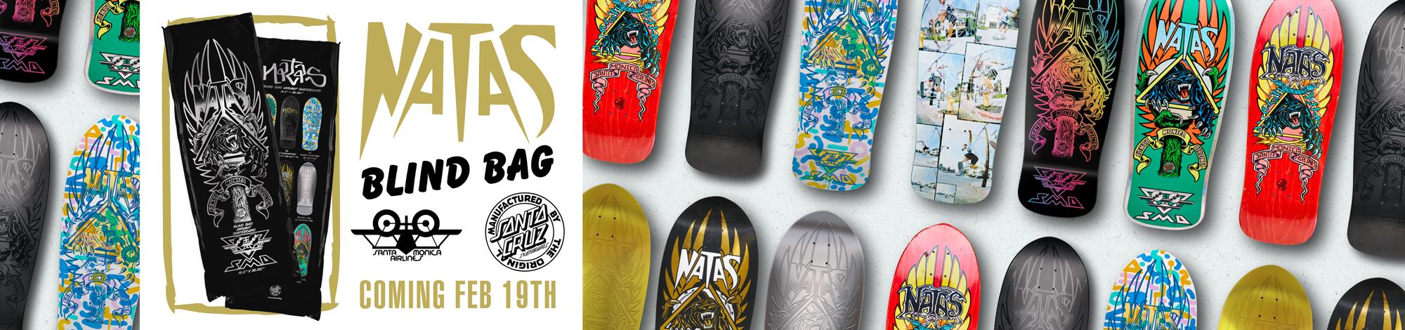NATAS Blind Bag Reissue Skateboard Decks