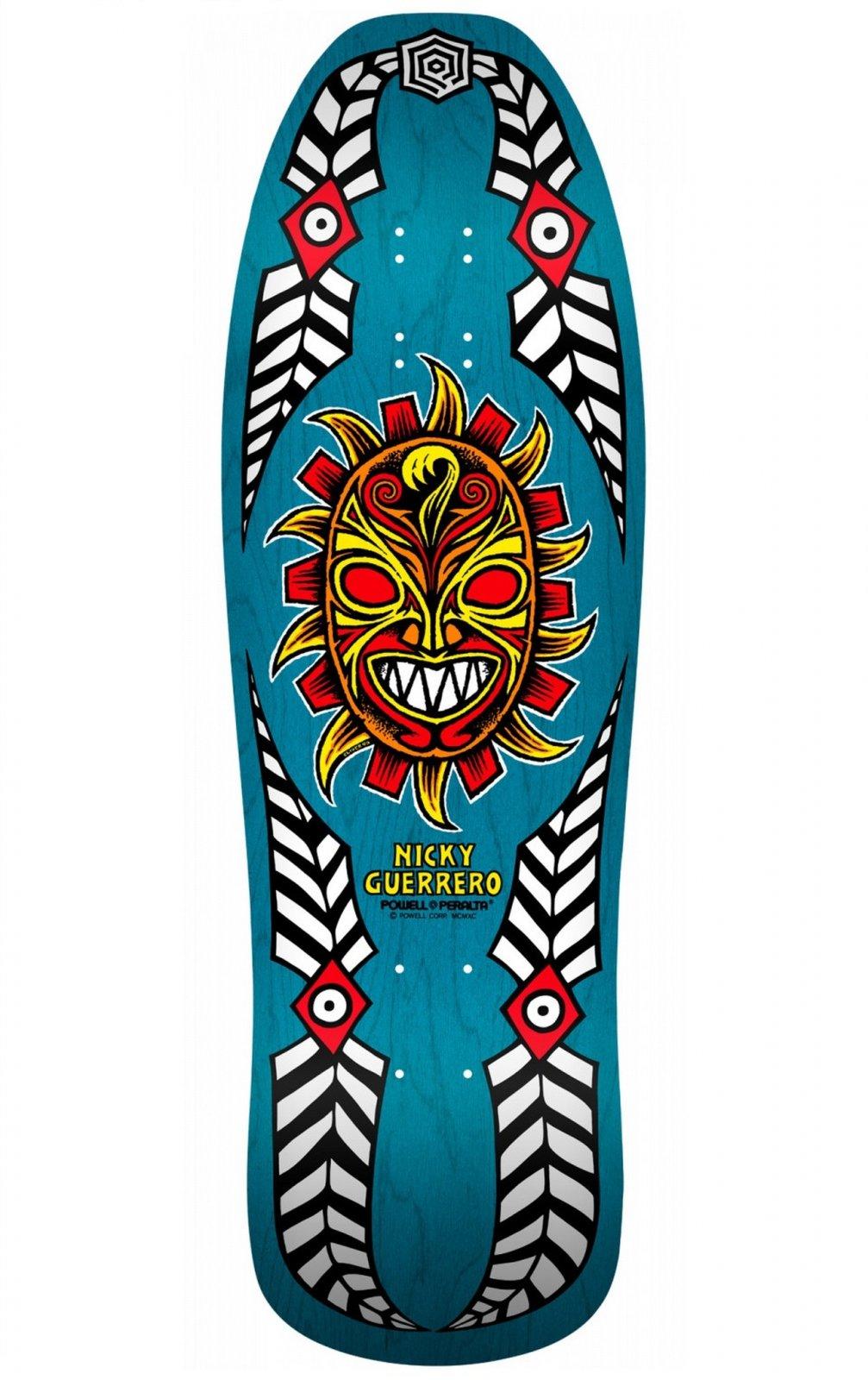 Powell Peralta Nicky Guerrero Mask 10.0 x 31.75 Skateboard Deck