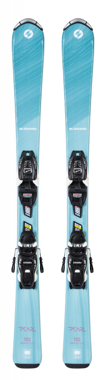 2021 Blizzard Pearl Jr Youth Skis w/ Marker FDT 7.0 Bindings