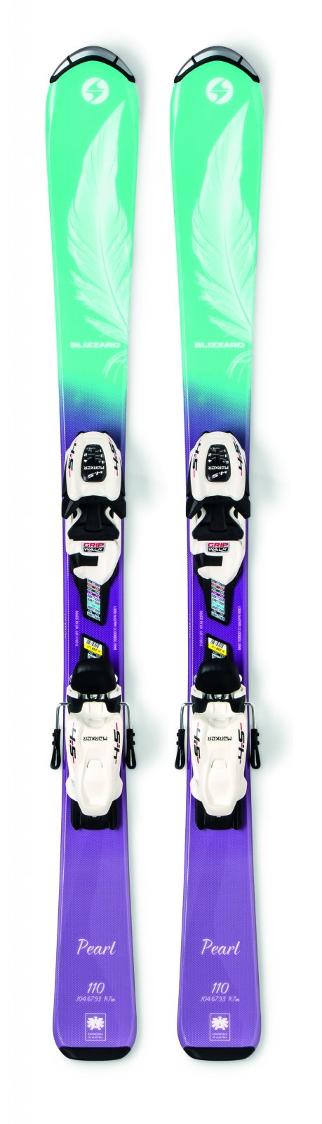 2020 Blizzard Pearl Jr Skis w/ FDT Jr 4.5 Binding