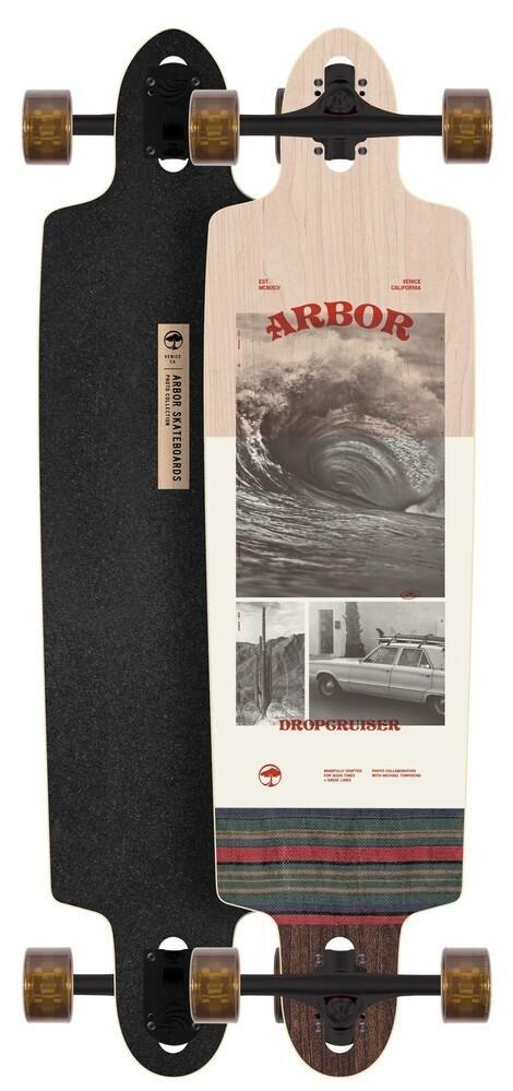 Arbor Dropcruiser Photo Wave Longboard Complete
