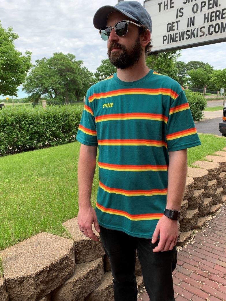 Pinewski's Pine Stripes Tee