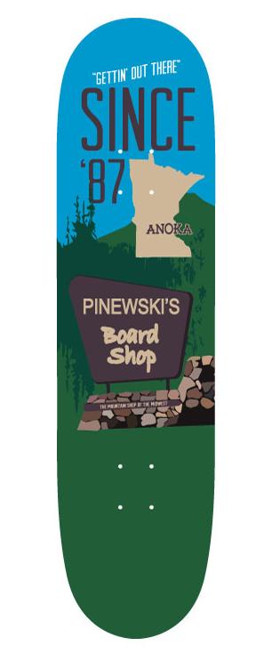 Pinewski's Deck w/ Grip