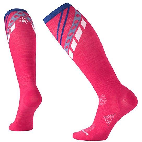 Smartwool Women's PhD Ski Ultra Light Pattern Socks