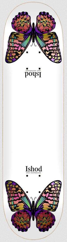 Real Ishod Monarch Twin Tail 8.25 x 31.8 Skateboard Deck