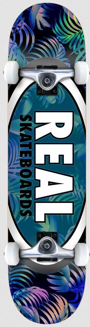 Real Tropic Ovals II 7.5 x 31.25 Skateboard Complete