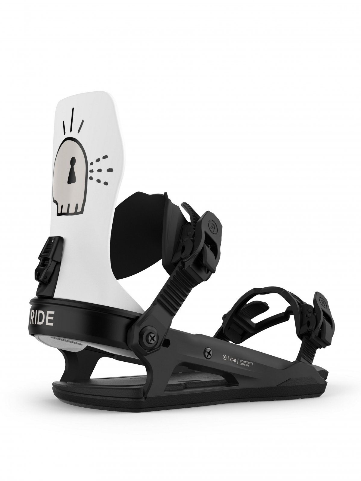 2021 Ride C-6 Men's Snowboard Bindings