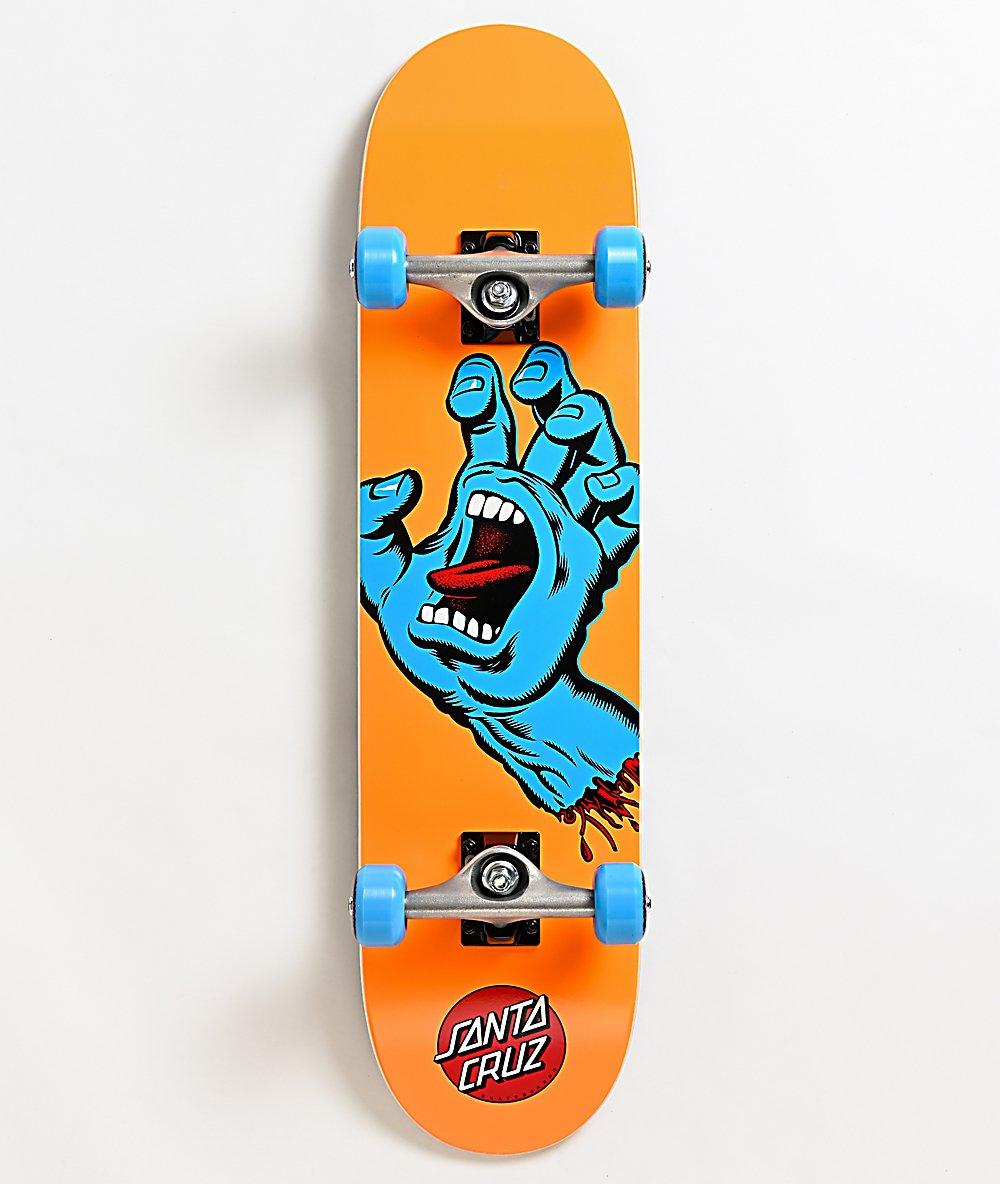 Santa Cruz Screaming Hand Mid 7.8 x 31.0 Skateboard Complete