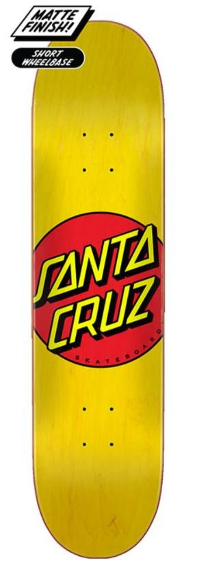 Santa Cruz Classic Dot 7.75 x 31.62 Skateboard Deck