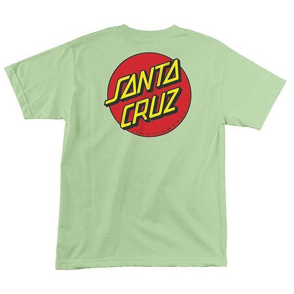Santa Cruz Classic Dot S/S Regular T-Shirt - Mint