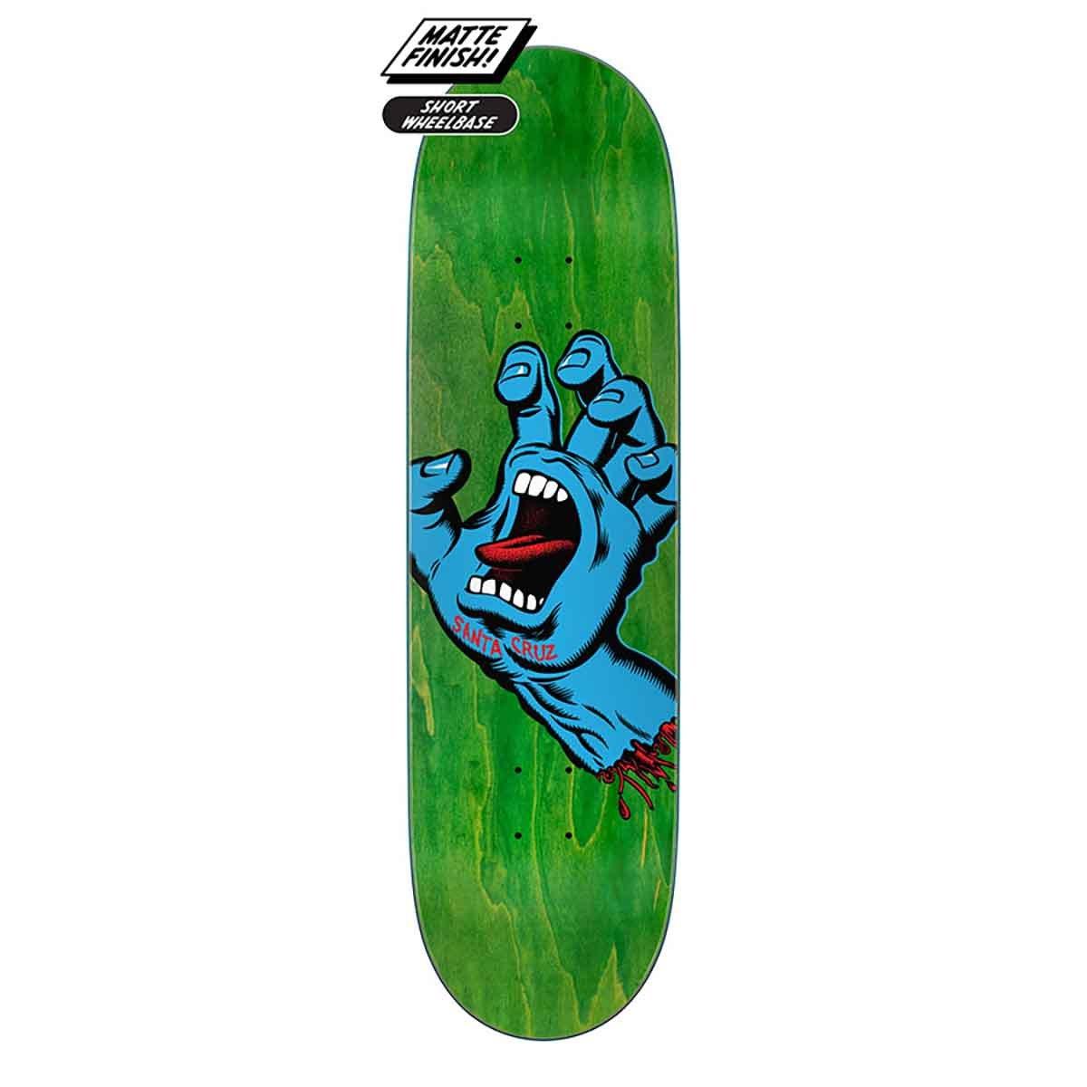Santa Cruz Screaming Hand 8.8 x 31.95 Skateboard Deck