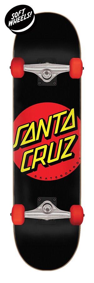 Santa Cruz Classic Dot Super Micro 7.25 x 27 Skateboard Complete