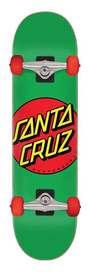 Santa Cruz Classic Dot Mid 7.8 x 31.0 Skateboard Complete