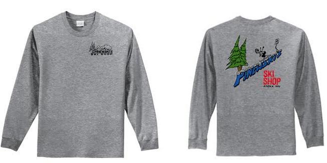 Pinewski's Throw Back Long Sleeve Shirt