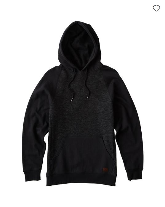 Billabong Balance Pullover Hoody Men's Sweatshirt - Black