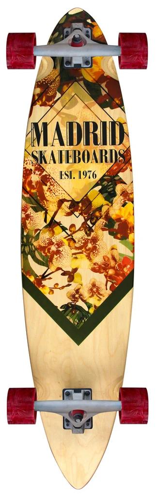 Madrid Blunt 38 Orchid Longboard Complete
