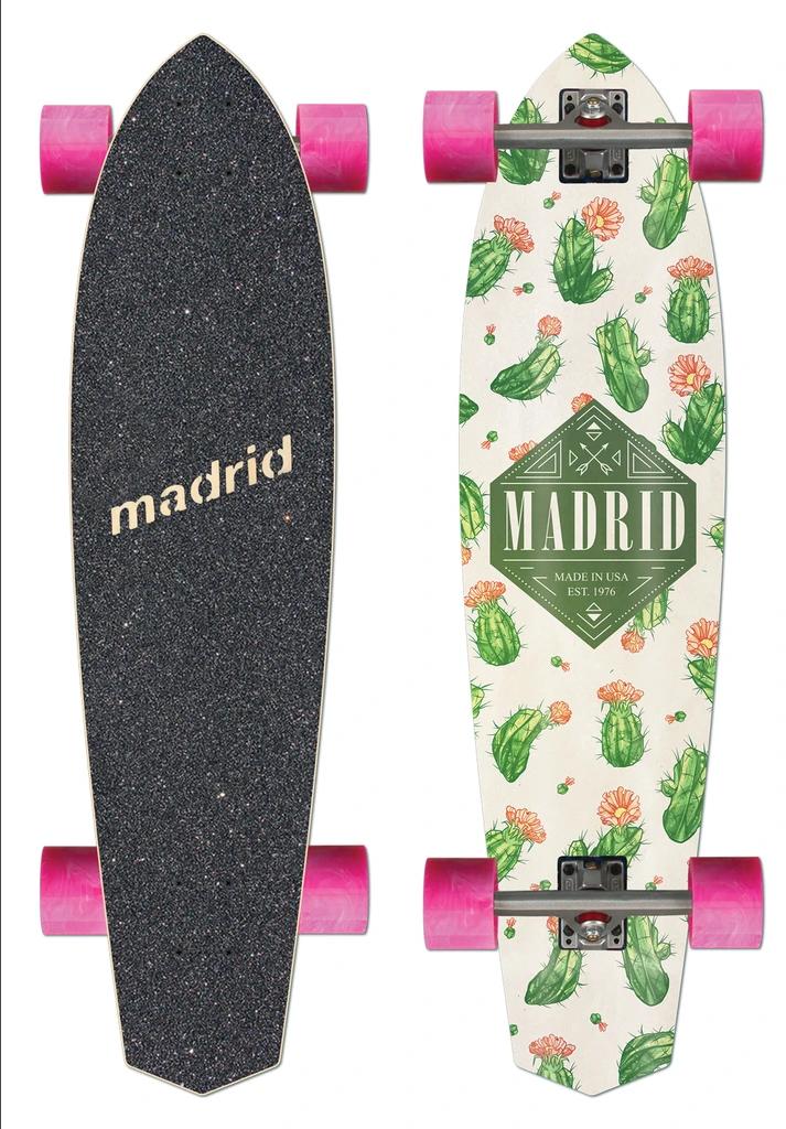 Madrid Dude 37.25 Cacti Longboard Complete