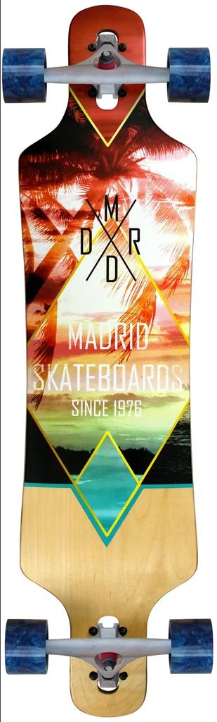 Madrid Spade 39 Mirage Drop-Through  Longboard Complete