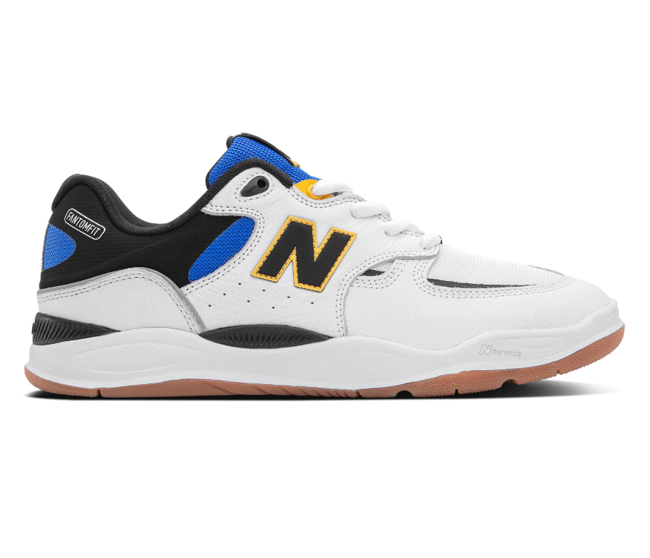 New Balance 1010 - White with Blue - Men's Shoes