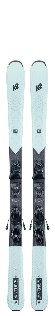 2021 K2 Anthem 75 Women's Ski W/ Marker ERP 10 Quickclik Binding