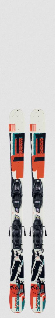 2021 K2 Juvy W/ Marker FDT 4.5 Junior Ski