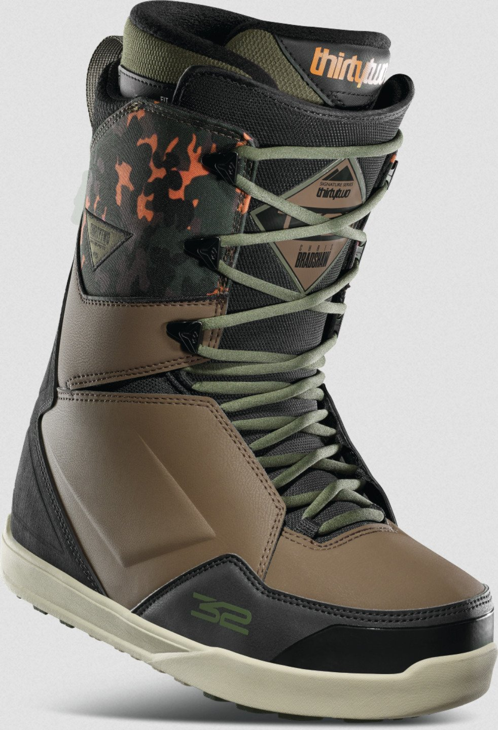2021 Thirtytwo Lashed Bradshaw Men's Snowboard Boots