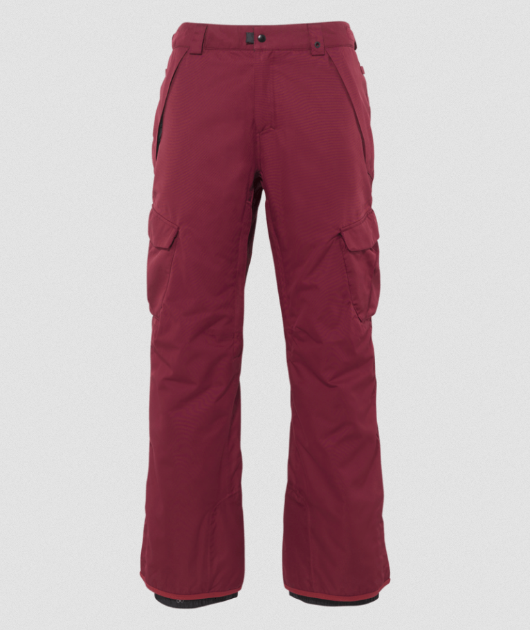 686 Men's Infinity Insulated Cargo Pant - Oxblood