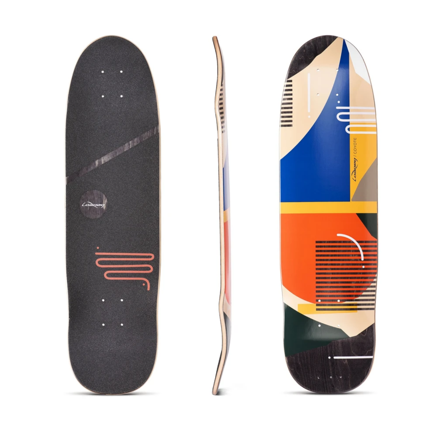Loaded Coyote Hola Lou Deck w/ Grip