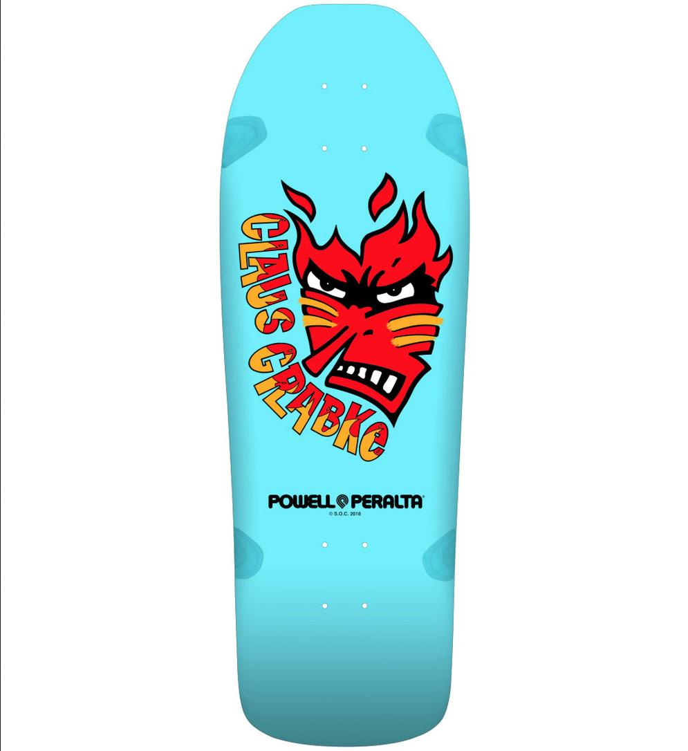 Powell Peralta Claus Grabke 10.25 Skateboard Deck
