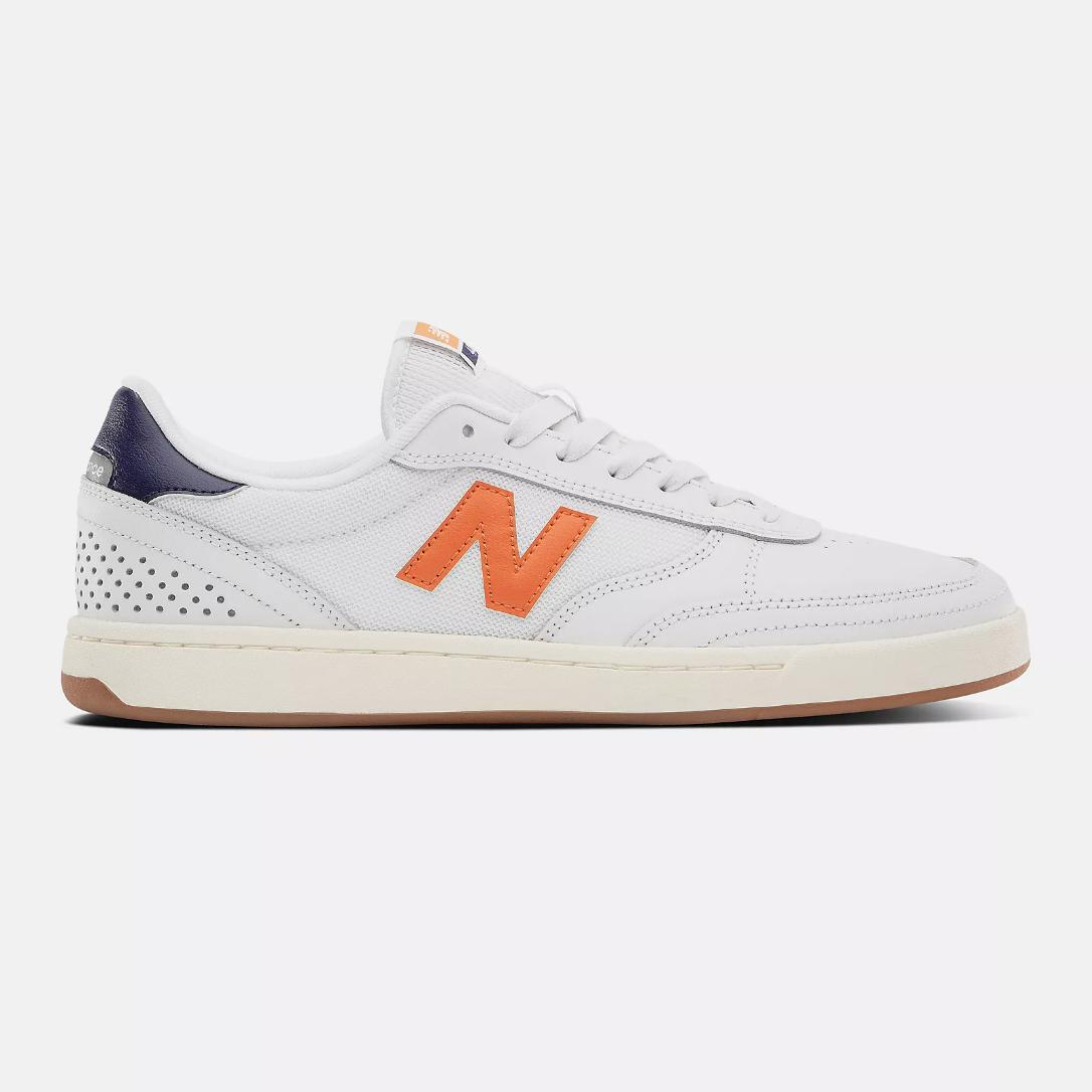 New Balance NM440 - White with Orange