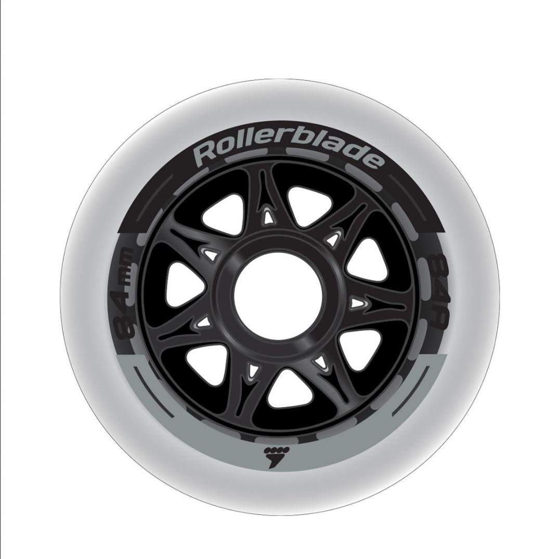 Rollerblade 84mm/84a Wheels (8-pack)